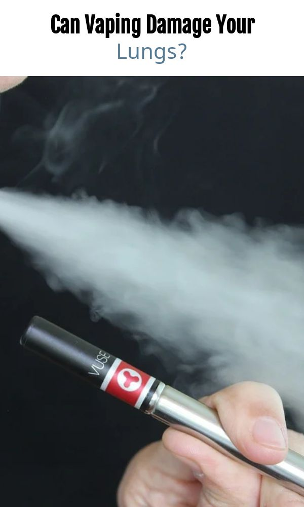 Can Vaping Damage Your Lungs?