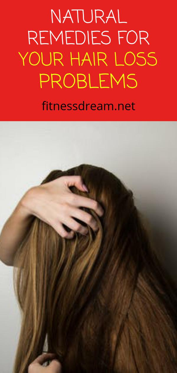 Natural Remedies for Your Hair Loss Problems
